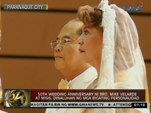 50TH Wedding Anniversary ni Bro. Mike Velarde at misis, dinaluhan ng mga bigating personalidad