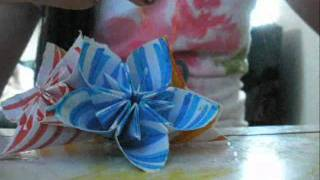 How Make To An Origami Flower Ball