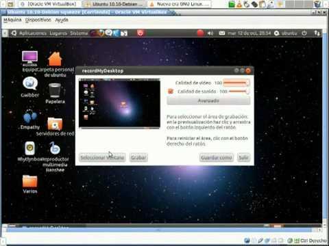 Linux Ubuntu 10.04 - 10.10 Fallo Virtualbox Compiz Vlc gtk-recordMyDesktop cosas del montón V-2º