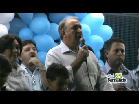 Discurso do prefeito Roland Trentini-comcio Fernando Amorim 25 bairro Mato Grosso