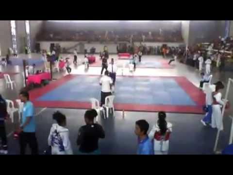 Open taekwondo Gabriel Lacayo