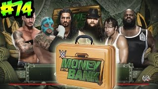WWE 2K16 -PPV Money In The Bank - Lucha Epica por el Maletin de Dinero en el Banco