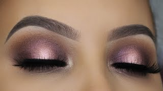 ABH NORVINA PALETTE MAKEUP TUTORIAL - SOFT HALO EYE LOOK
