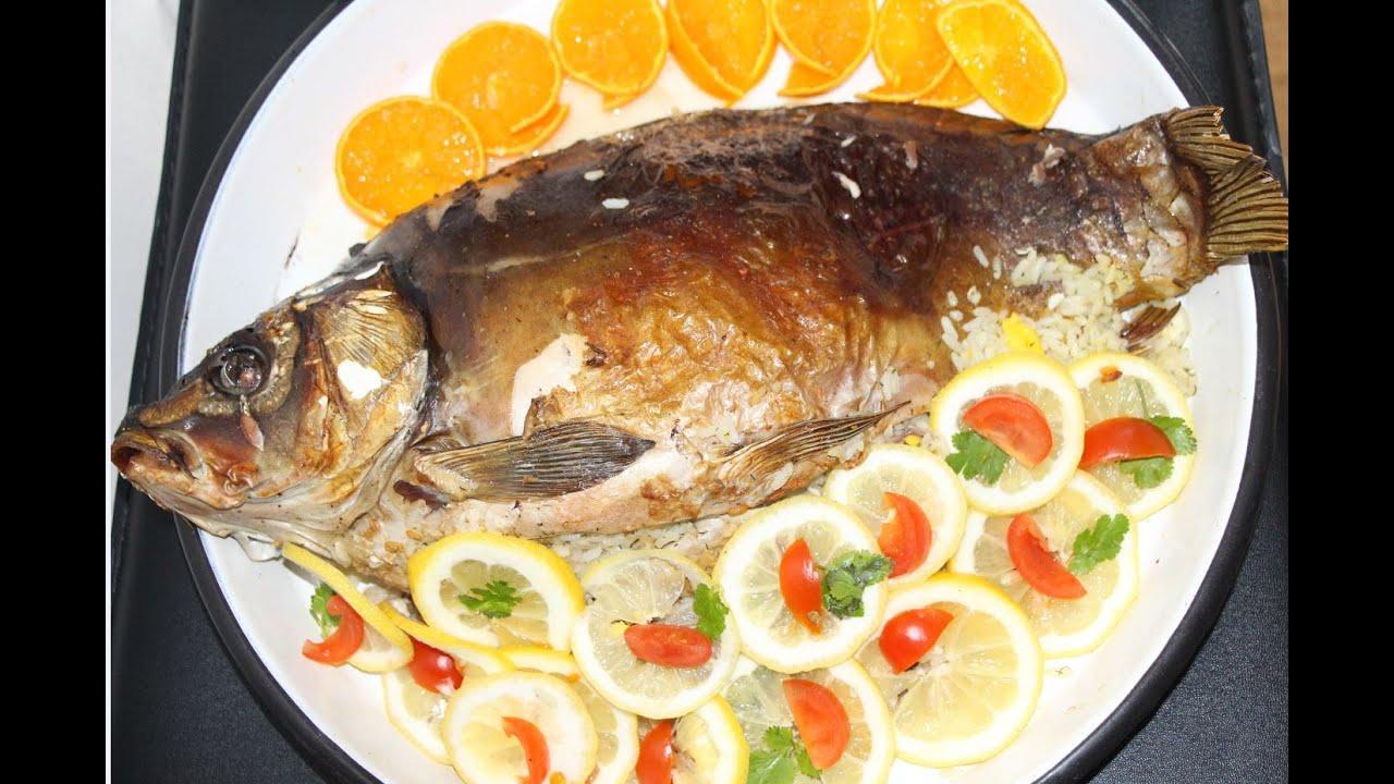 Рыба карп рецепт в духовке