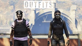(GTA 5 Online) My Current Outfits | And Settings