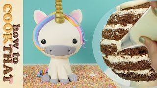 3D unicorn cake | How To Cook That Ann Reardon