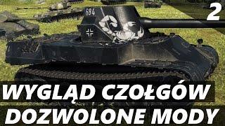 Zmiana wyglądu czołgu w World of tanks - Dozwolone mody - World of Tanks.