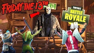 FRIDAY THE 13TH MINIGAME !! | Fortnite Playground