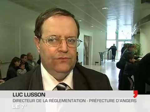 Angers : Démarrage de la nouvelle immatriculation