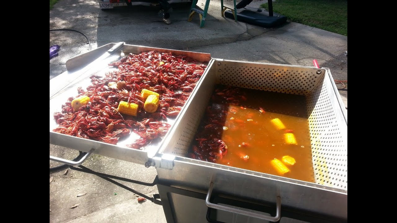 How To Boil Louisiana Crawfish In The King Kooker 9090
