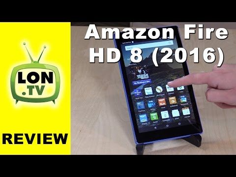 Amazon Fire HD 8 Tablet In Depth Review - New for 2016