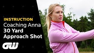 How to Hit Pitch Shots From 30 Yards and In | Pitch Tips | Coaching Anna | Golfing World