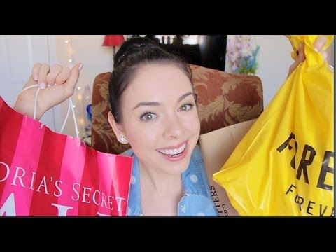 ♡ Forever21, American Eagle & Victorias Secret Haul!