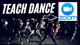 How to teach dance and zumba classes live with zoom.us #zoom #zumba #dance