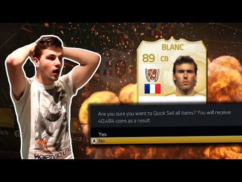 FIFA 15 | NEW LEGEND BLANC ON THE LINE! DISCARDING LAURENT BLANC!?!?