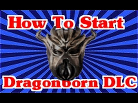 Skyrim Dragonborn DLC: How To Start The Quest Tutorial