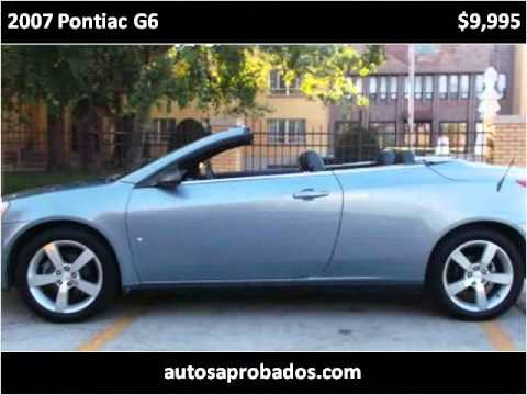 2007 Pontiac G6 Used Cars Chicago IL