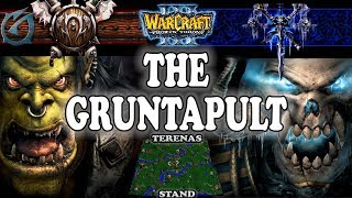 Grubby | Warcraft 3 TFT | 1.29 | ORC v UD on Terenas Stand - The Gruntapult