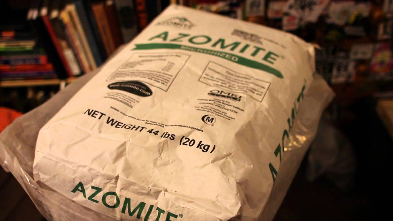 Azomite - YouTube