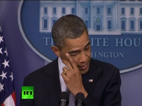'Our hearts broken today': Obama's full speech on school shooting in Connecticut