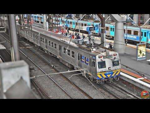 Hitachi Train Transfer at Southern Cross