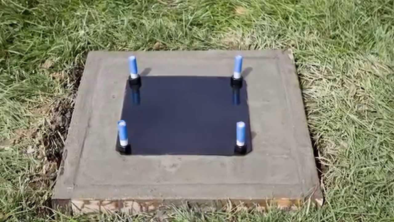 Goalrilla Basketball Goal Installation Part 1 Youtube
