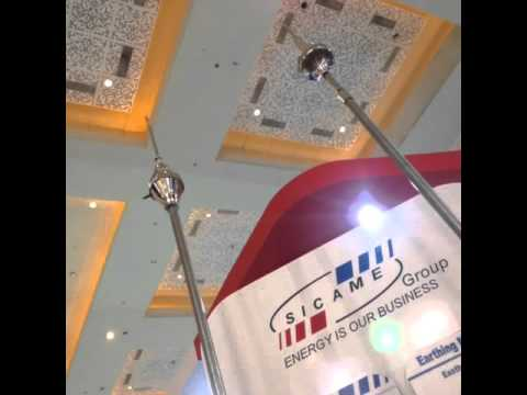 Duval Messien at the international expo of ELECTRIC, POWER & RENEWABLE ENERGY INDONESIA 2015