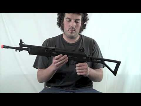 CYMA/IWI Full Metal GALIL SAR AEG Rifle - Airsoft Megastore Gun Review