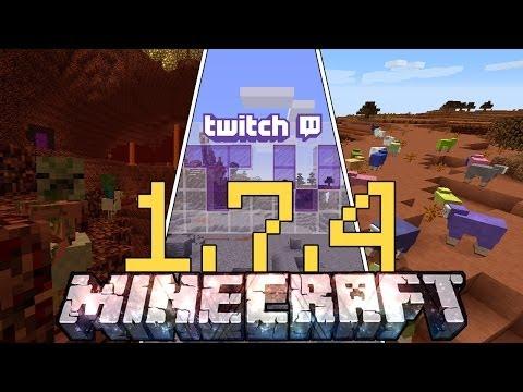 Minecraft ITA - Versione 1.7.4: Tutte le Novità nel Dettaglio