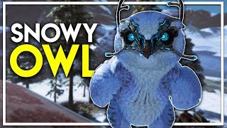 Snowy Owl Taming!! - MOST EPIC FLYING MOUNT! (Ark Extinction DLC Gameplay Ep 13)