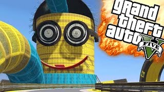 EEN MINION IN GTA?! | GTA 5 Online Funny Moments