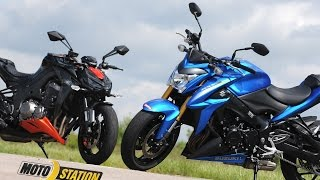 Comparatif roadsters made in Japan : La Suzuki GSX-S 1000 défie la Kawasaki Z 1000, banzai !