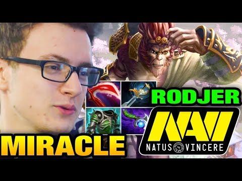 Miracle- Monkey King VS Na`Vi.RodjER Clock - Dota 2