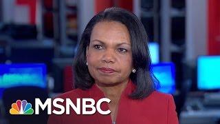 Condoleezza Rice: Putin's Actions Were About 'Punishing' Hillary Clinton | Morning Joe | MSNBC