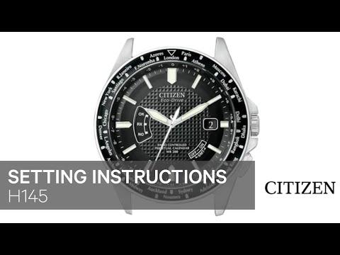 CITIZEN H145 Setting Instruction