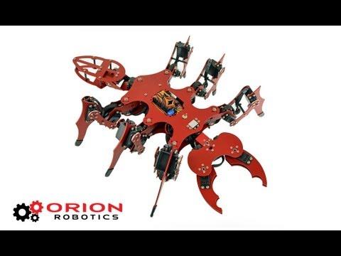 FireAnt Hexapod Robot