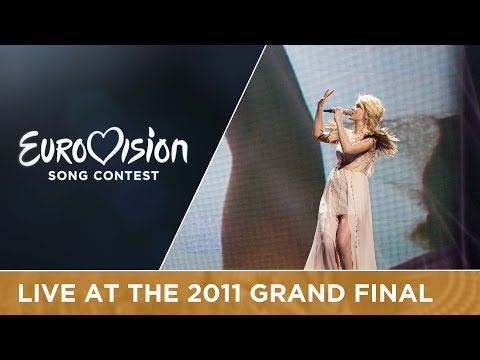 Mika Newton - Angel (Ukraine) Live 2011 Eurovision Song Contest