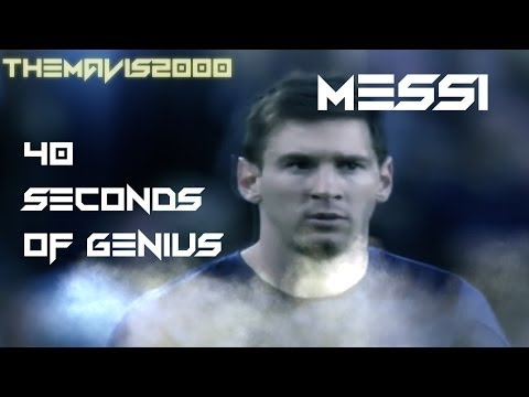 Lionel messi- 2014 - 40 seconds of genius