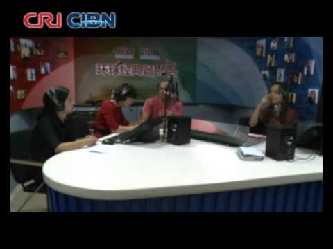 Carlos Malta concede entrevista  à China Radio International - CRI