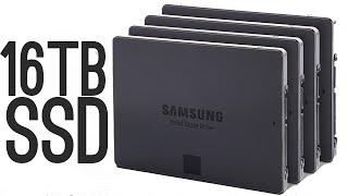 Samsung 16 Terabyte SSD [World's Largest!]