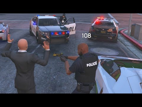 GTA 5 fiveM RolePlay Server - GETTING PULLED OVER... GOING TO JAIL