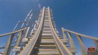 ZDT's Switchback On Ride POV Wooden Shuttle Roller Coaster