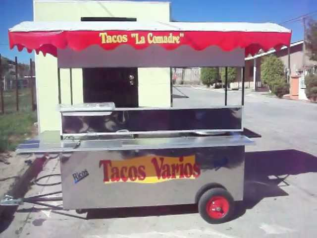 Tacos Varios  CARRETAS PARA COMIDA.COM 01 800 CARRETA.MOV