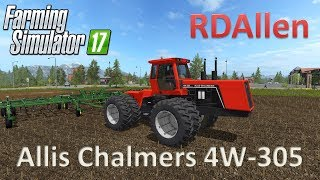 Allis Chalmers 4W-305 - Farming Simulator 17 Mod Review