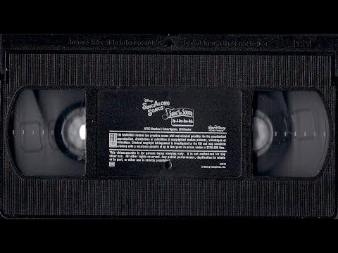 Disney Sing Along Songs Vhs Promo to Disney Sing Along Songs
