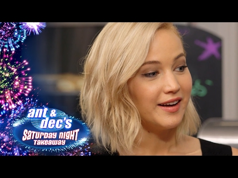 Little Ant & Dec Meet The Stars Of The Hunger Games - Saturday Night Takeaway