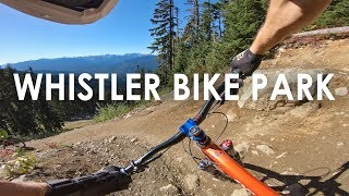 30 minutes of PERFECT CONDITIONS at the Whistler Bike Park | Jordan Boostmaster