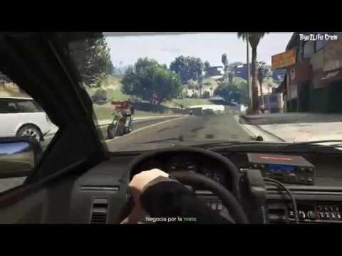 GTAV (PS4) - Amazing Pursuit | Persecución Parkour
