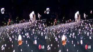 LG 3D Demo - Cinema 3D World I