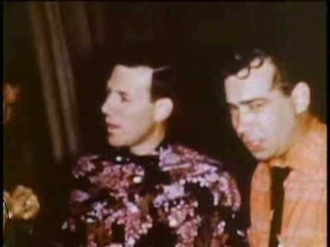 Elvis Presley, Bill Black, Scotty Moore, Buddy Holly, Carl Perkins&Johnny Cash 1955